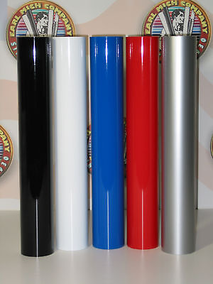 """48/"""" x 50yd 6yr outdoor sign vinyl film craft hobby roll sheet tomato red"""