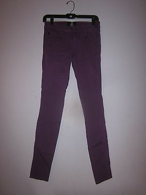 Hot Topic  Royal Bones Purple Skinny Jeans  Please Read Discription