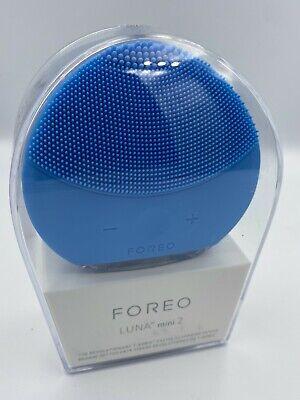 FOREO LUNA mini 2 Facial Cleansing Brush Aquamarine Authentic New