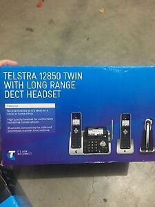 Telstra twin long range headset Bass Hill Bankstown Area Preview