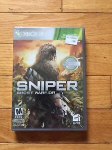 Sniper Ghost Warrior Xbox 360 Game