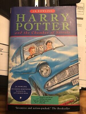 Harry Potter and the Chamber of Secrets 1999 Bloomsbury - ISBN 1-55192-244-4