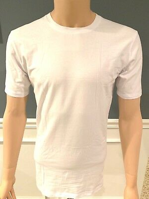 TOMMY JOHN 2-PACK basic T-shirt White NWT!! (S,M,L,XL) Crewneck Undershirt 2 Pack Crewneck T-shirt