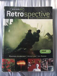 Retrospective Year 11 Modern History Textbook