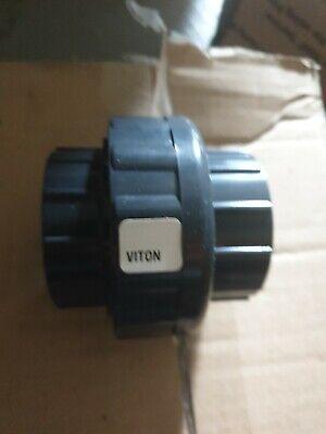 New Charlotte Sch 80 Pvc 2 Union Socket Connect New Sch 80 Pvc
