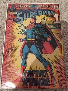 Superman 15 cent iconic Neal Adams cover comic