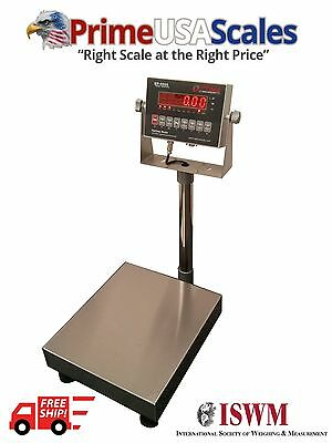 Bench Scale Optima Op-915 Legal For Trade 24x24 1000 Lb Ntep