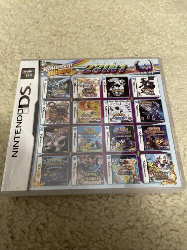 23 in 1 Nintendo DS Multi Cart Pokemon Games
