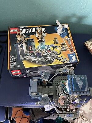 Lego Ideas Doctor Who (21304) Complete Set With Manual