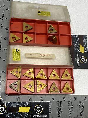 Lot Of 15pcs Assorted Triangle Sandvik T Carbide Inserts Read Details