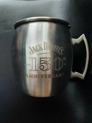 Jack Daniels 150th Anniversary Stainless Steel Mule Mug