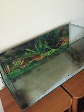 2 1/2 foot fish tank an accessories Christies Beach Morphett Vale Area Preview
