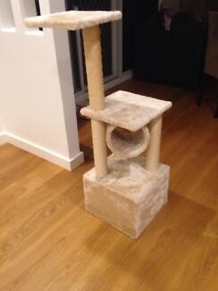 CAT TREE OASIS AND SCRATCHER Ryde Ryde Area Preview