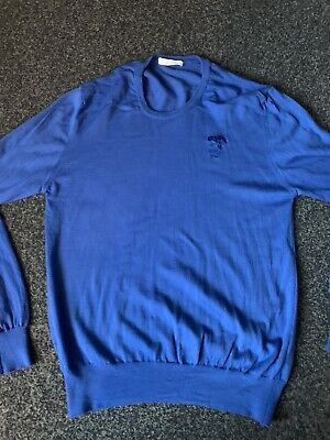 Gianni Versace Navy Blue Jumper Size Xtra XL Large