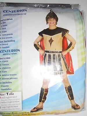 Childrens Boys Centurion Costume for Roman Gladiator Fancy Dress age 3-4 years