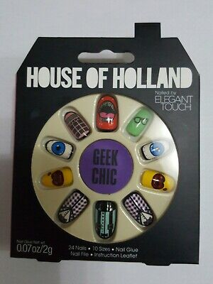 House of Holland False nails Geek Chic by Elegant touch