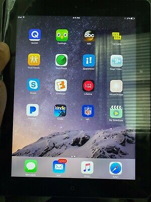 Apple iPad 3rd Gen. 64GB, Wi-Fi + Cellular (Verizon), 9.7in - Black