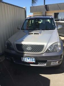 2005 Hyundai Terracan 7 seater Maidstone Maribyrnong Area Preview