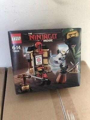 Lego Ninjago Movie 70606 Spinjitzu Training Toy free uk delivery Damaged New