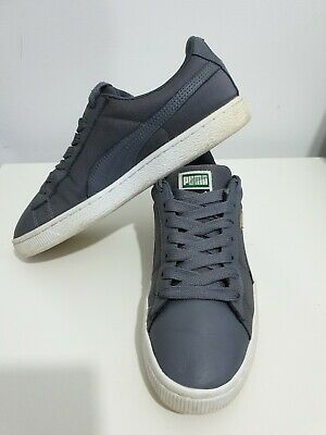 Puma Basket Classic Soft - Men's Leather Trainers UK Size 8 - MINT CONDITION!