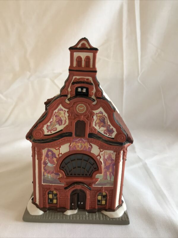 Department 56  Alpine Village Series Holy Ghost Church