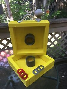 Washer Toss Game - handmade - SOLD