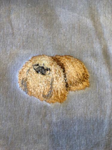 Pekingese, Hand Towel, Embroidered, Custom, Personalized, Dog