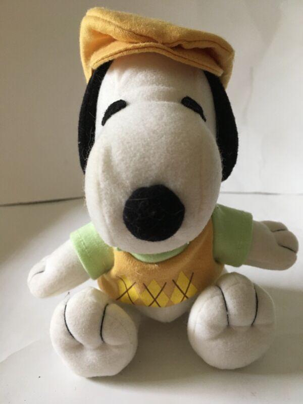 Peanuts Golfer Snoopy Small Plush