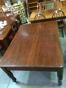 dining table,woodtable,kitchen table,vintage table WE CAN DELIVER Brunswick Moreland Area Preview