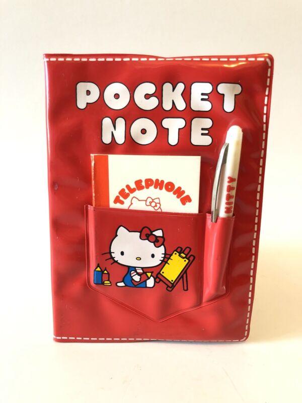 Vintage Sanrio Hello Kitty Pocket Note 1975 1976