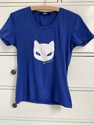 karl lagerfeld t shirt Xs Blue