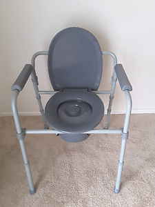 TOILET SEAT RAISER CHAIR  COMMODE  DISABILITY   ONLY USED 1 WEEK Craigmore Playford Area Preview