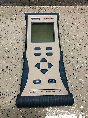 Hydrolab Surveyor 4a Multi-parameter Water Quality Tester Display