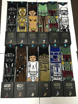 STANCE STAR WARS COMPLETE COLLECTION 12 PAIRS OF SOCKS Force Awakens Brand New!!
