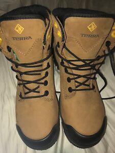"""New protective work boots ran terra men metal 6"""""""