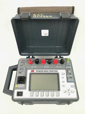 Avo Megger Multi-amp Pmm-1 Power Multimeter Multi-function Measuring Instrument