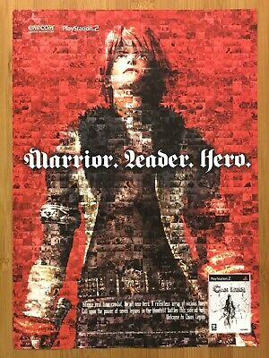 Chaos Legion PS2 2003 Vintage Video Game Print Ad/Poster Official UK Promo Art