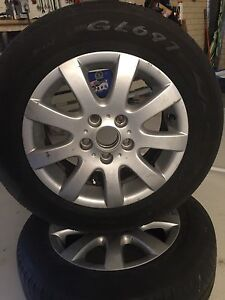 VW 15inch alloy  rims and tyres $50 Beeliar Cockburn Area Preview