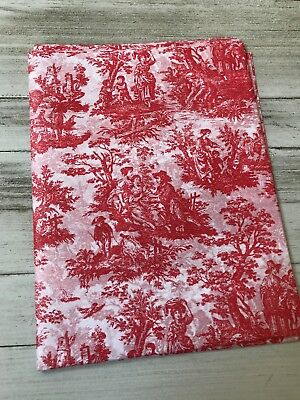 French Toile Tissue Paper Pack 20x30 10 Large Sheets Gift Wrap Wrapping Craft