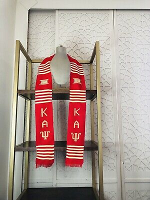 Kappa Alpha Psi Graduation Stole, Fraternity Custom Graduation Sash