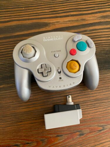 Wavebird Nintendo Wireless GameCube Controller and Receiver Official DOL-004