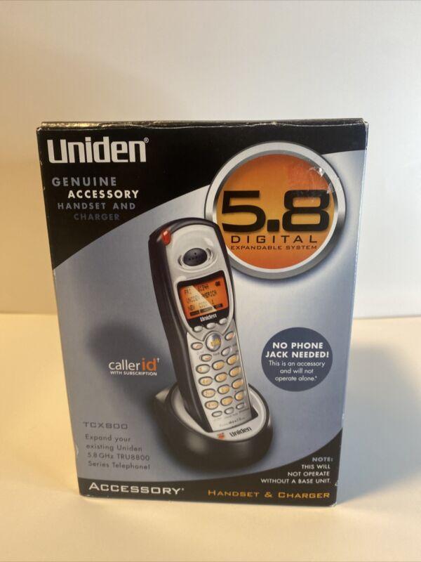 Uniden TRU8885-2 5.8 GHz Dual Handsets Single Line Cordless Phone