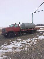Potable Water hauling