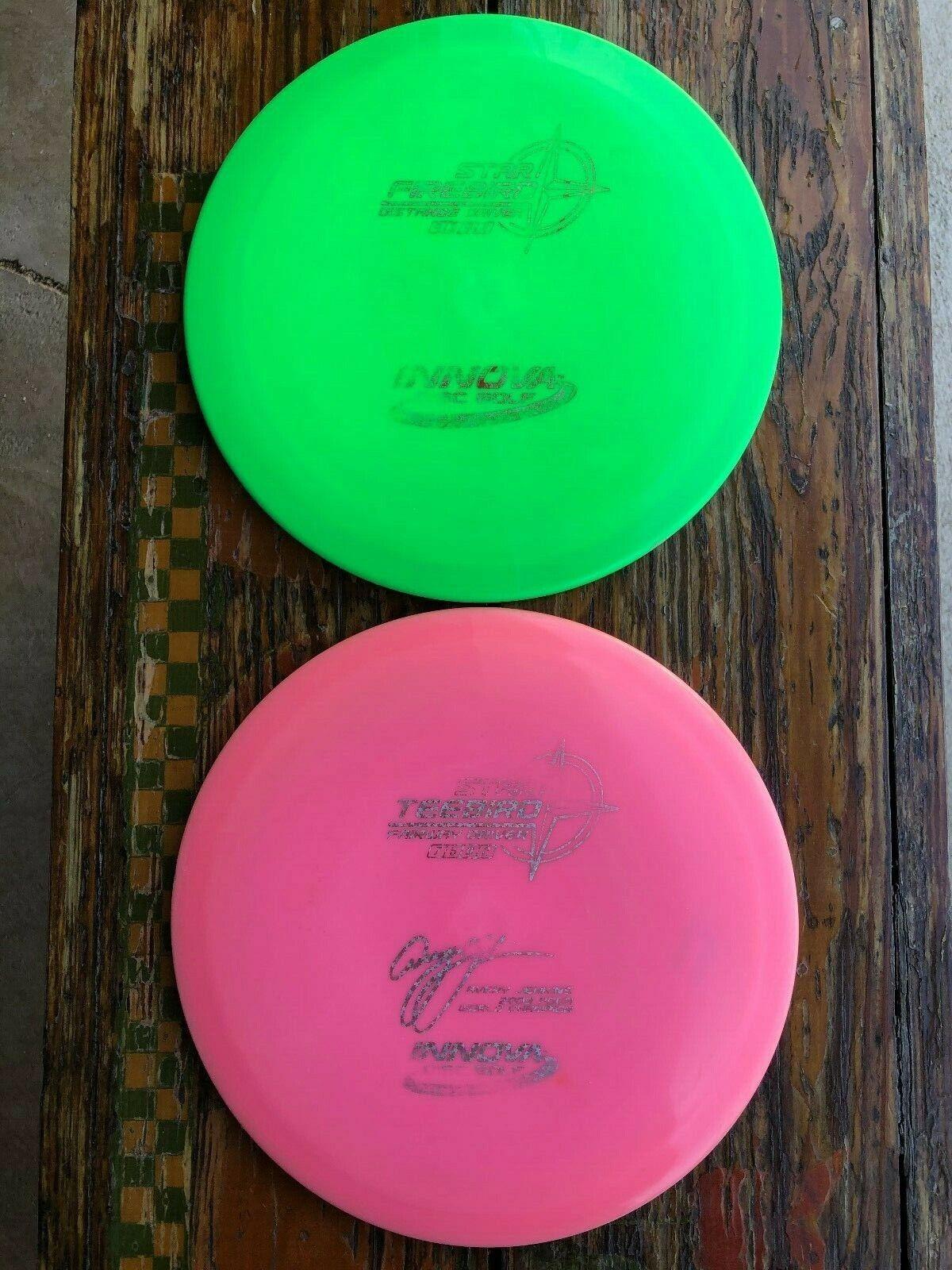 Innova Firebird Teebird Star Avery Jenkins Disc Golf Driver Pair Lot Tbird Set - $24.95