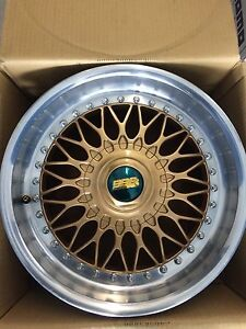 "Authentic BBS 17""x8"" 5x120"