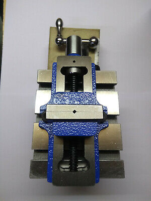 Lathe Vertical Milling Slide - Swivel Base 4 X 5 With 2 Self Centering Vice