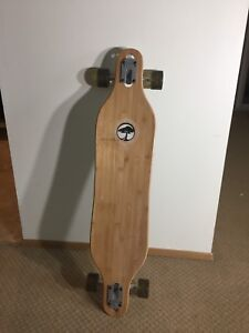 Arbor Axis BC Complete Bamboo Longboard - Brand New