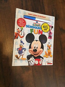 Micky Mouse school activity book