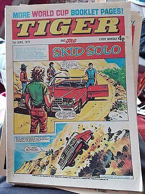 Tiger & Jag - 1st June 1974