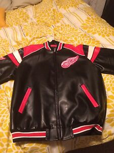 Detroit Red Wings leather jacket Peterborough Peterborough Area image 2